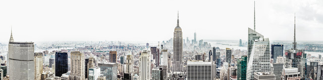 Manhattan Panorama - Fineart photography by Roman Becker