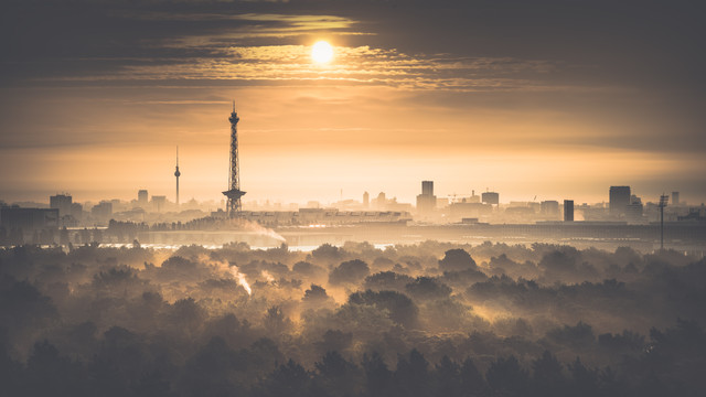 Drachenberg View - Fineart photography by Ronny Behnert