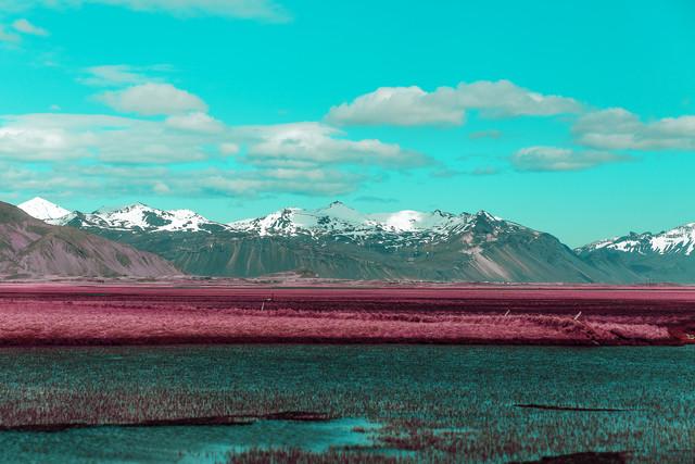 blue river mountains - Fineart photography by Susanne Kreuschmer