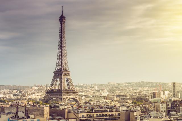 Paris Eiffel Tower - Fineart photography by David Engel