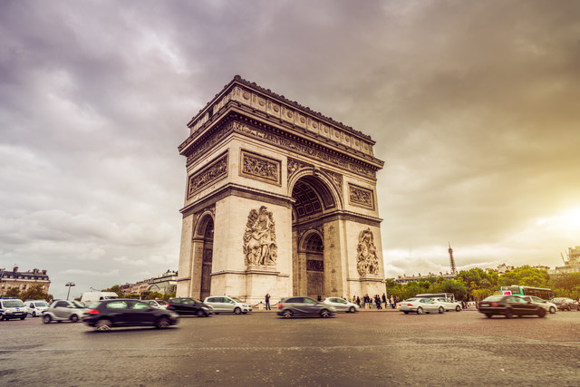 triumphal arch - Fineart photography by David Engel