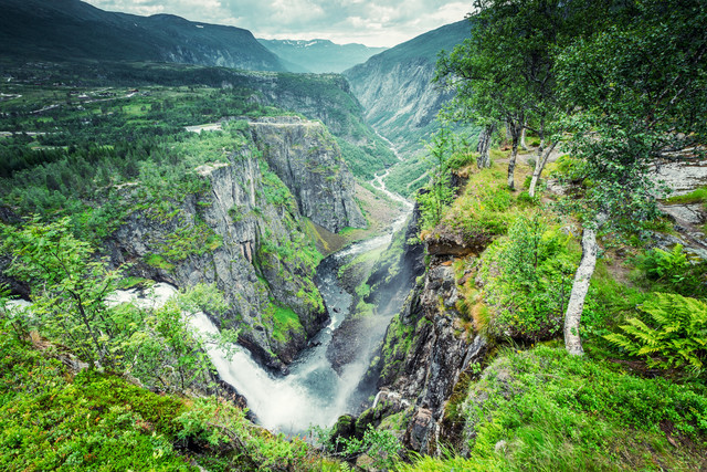 [:] Vøringsfossen [:] - Fineart photography by Franz Sussbauer
