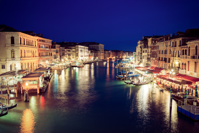 Venedig Canal Grande - Fineart photography by David Engel
