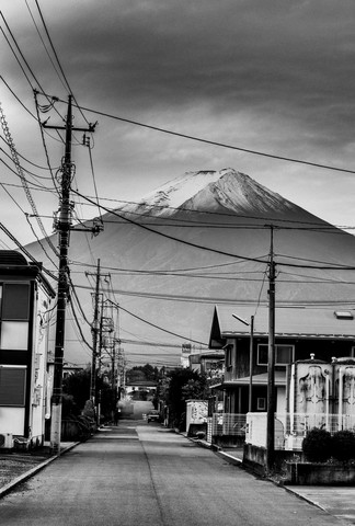 Mount Fuji - Fineart photography by Michael Wagener