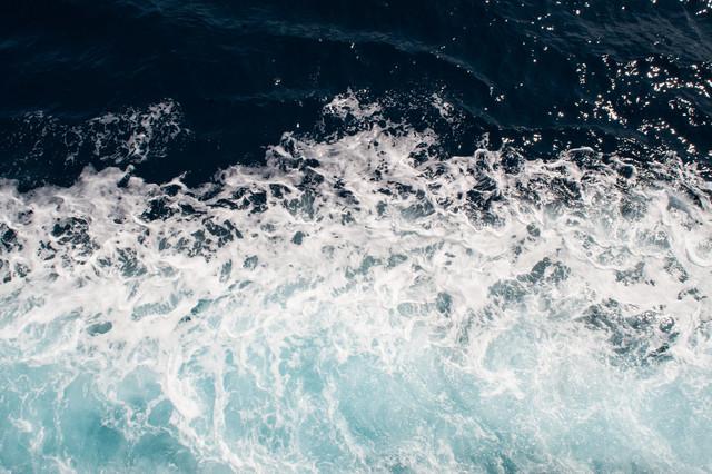 Blue - Croatian Water - Fineart photography by Laura Droße