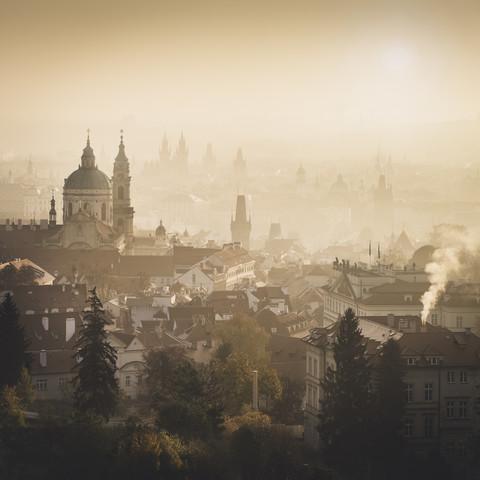 Prague - The Golden City - Fineart photography by Ronny Behnert