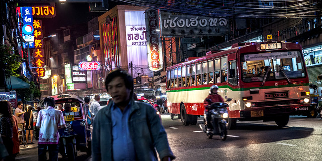 Nightlife Chinatown 4 (Bangkok) - Fineart photography by Jörg Faißt
