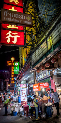 Nightlife Chinatown 3 (Bangkok) - Fineart photography by Jörg Faißt