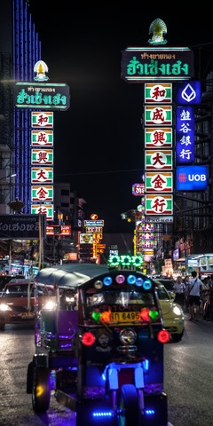 Nightlife Chinatown 7 (Bangkok) - Fineart photography by Jörg Faißt