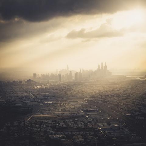 Dubai Marina Skyline - Fineart photography by Ronny Behnert