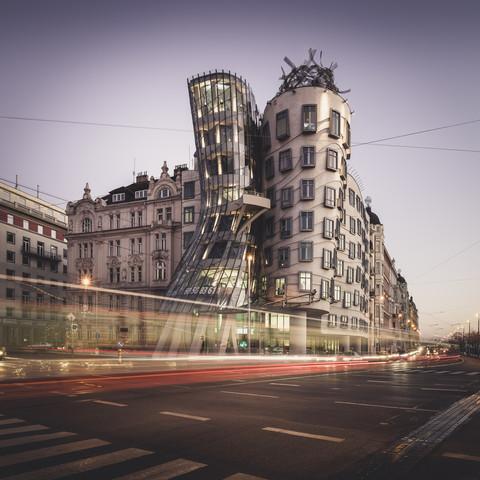 Tančící dům Prague - Fineart photography by Ronny Behnert