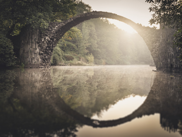 Rakotzbridge - Study5 - Fineart photography by Ronny Behnert