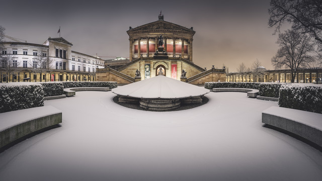 Old National Gallery Panorama Berlin - Fineart photography by Ronny Behnert