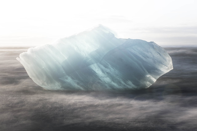 Ice rock - Fineart photography by Lucas Jackson