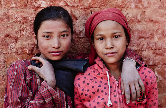 The Brick Girls - Fineart photography by Jan Møller Hansen