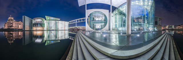 Berlin - Government District Study IV - Fineart photography by Jean Claude Castor