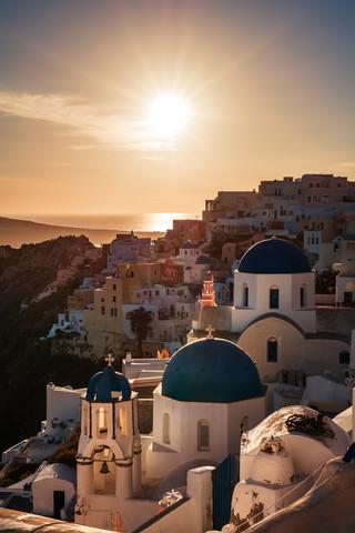 Santorini - Oia Classic I - Fineart photography by Jean Claude Castor