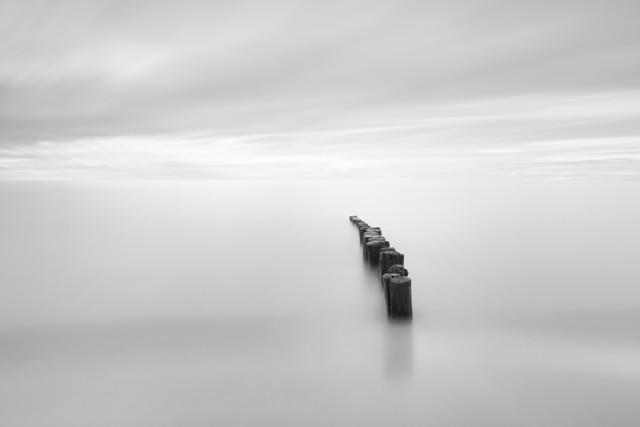 bright beach - Fineart photography by Holger Nimtz