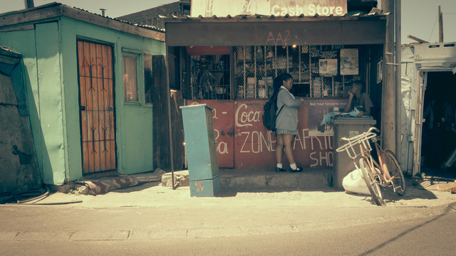 Streetphotography township Langa | Cape Town | South Africa 2015 - Fineart photography by Dennis Wehrmann