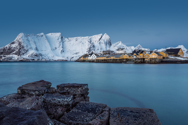 Sakrisøy // Lofoten islands, Norway - Fineart photography by Eva Stadler
