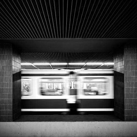 Underground rush - Fineart photography by Richard Grando