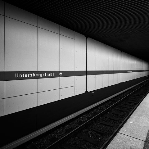 Untersbergstraße Munich - Fineart photography by Richard Grando