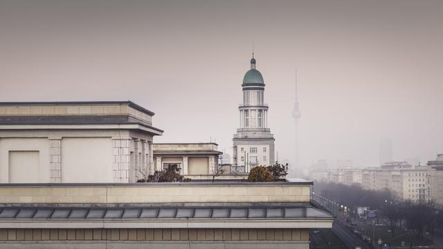 Frankfurter Allee Berlin - Fineart photography by Ronny Behnert