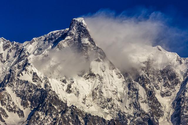 Ultar Sar (7,388m) - Fineart photography by Sher Ali