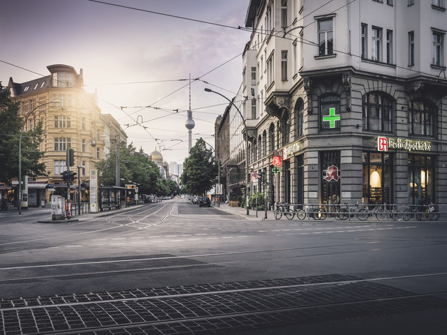 Oranienburger Straße - Fineart photography by Ronny Behnert