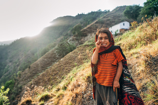 Nepal Smile - Fineart photography by Oliver Ostermeyer