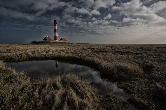 Leuchtturm Westerhever - Fineart photography by Angelika Stern