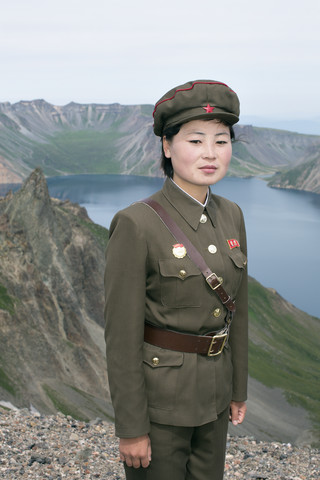 On the holy mountain Paektusan. North Korea, 2014 - Fineart photography by Martin Von Den Driesch