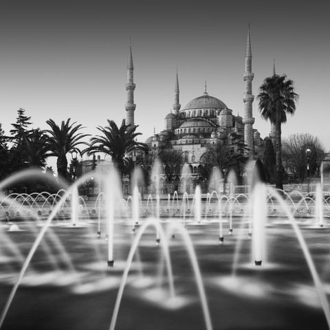 Blue Mosque Sultanahmet Camii  Istanbul Turkey - Fineart photography by Ronny Behnert