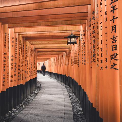 Fushimi Inari-Taisha Kyoto Japan - Fineart photography by Ronny Behnert