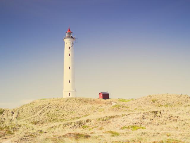 Lyngvig Fyr Lighthouse - Fineart photography by Holger Nimtz