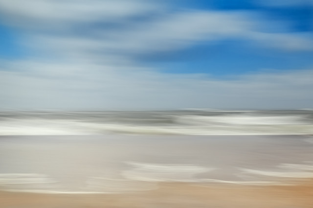 beach view - Fineart photography by Holger Nimtz