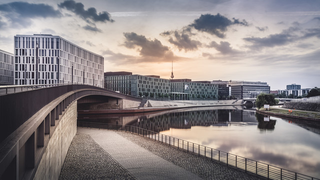 Hugo-Preuß-Bridge Berlin - Fineart photography by Ronny Behnert