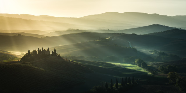 Tuscany - Podere Belvedere - Fineart photography by Jean Claude Castor