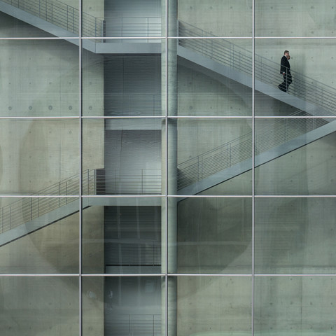 downstairs - Fineart photography by Klaus Lenzen
