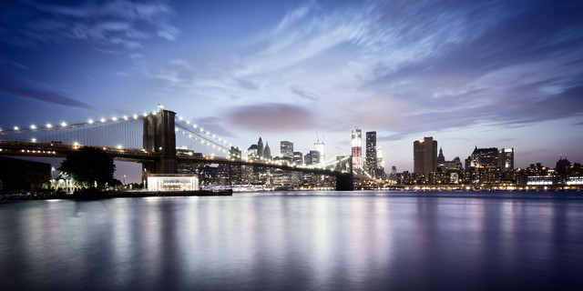 [Brooklyn Bridge - NYC] ,* 620 -  USA 2012 - Fineart photography by Ronny Ritschel