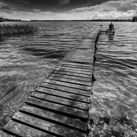 Angler - Fineart photography by Mikolaj Gospodarek