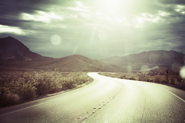 The Road - Fineart photography by Florian Büttner
