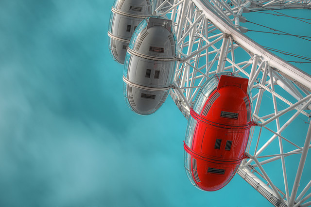 London Eye - Fineart photography by Michael Belhadi