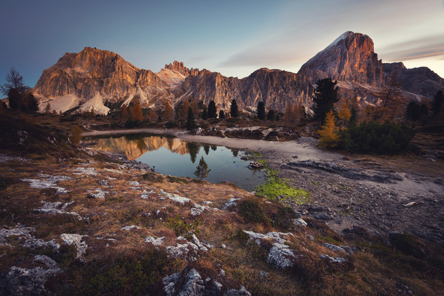 [:] view over Lake Limides [:] - Fineart photography by Franz Sussbauer