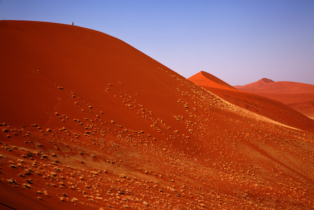 Red dunes in Sossusvlei - Fineart photography by Angelika Stern