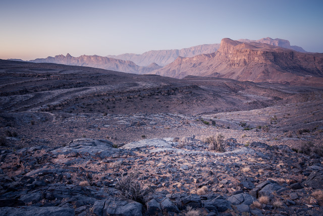Beautiful morning in Jebel Shams region, Oman - Fineart photography by Eva Stadler