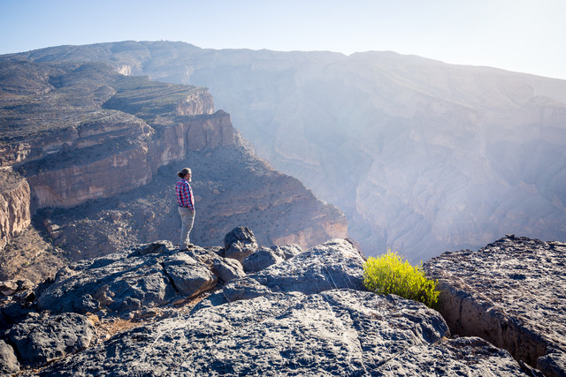 Morning at the Jebel Shams Canyon - Fineart photography by Eva Stadler