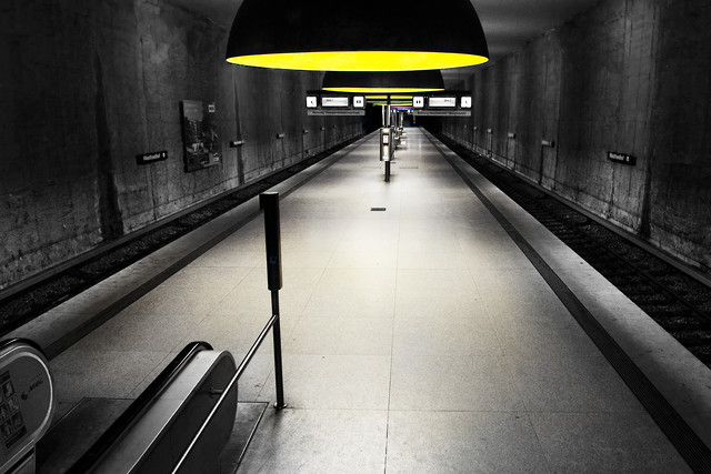 Subway Impressions - Fineart photography by Ronny Ritschel