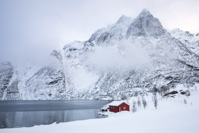 Winter Dream At The Lake - Fineart photography by Moritz Esser