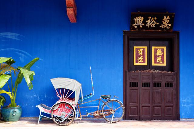 Cheong Fatt Tze Mansion - Fineart photography by Simon Bode